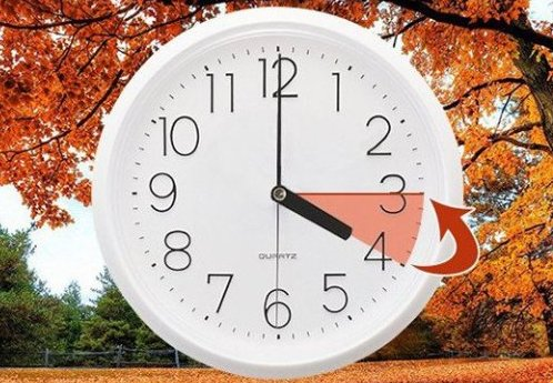 Внимание! Не забудьте в воскресенье перевести стрелки часов